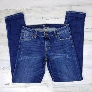 KUT from the Cloth Boyfriend Distressed Jeans Sz 4